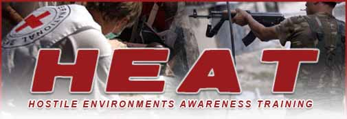HEAT - Hostile Environments Awareness Training; Thailand, Southeast Asia